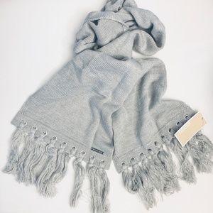 Michael Kors Fringe Knit Scarf